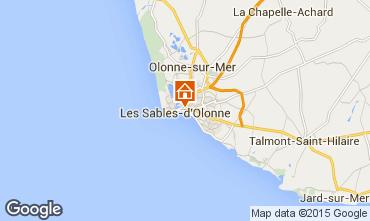 Karte Les  Sables d'Olonne Appartement 94815
