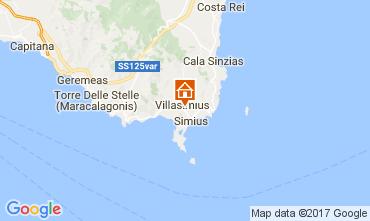 Karte Villasimius Appartement 109007