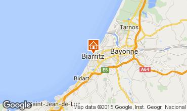 Karte Biarritz Studio 44140