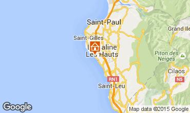 Karte La Saline les Bains Villa 59508