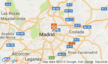 Karte Madrid Appartement 65875
