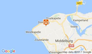 Karte Domburg Ferienunterkunft auf dem Land 108693