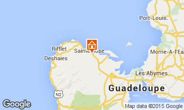 Karte Sainte Rose Ferienunterkunft auf dem Land 29670