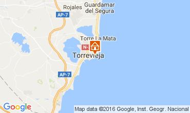 Karte Torrevieja Appartement 91265