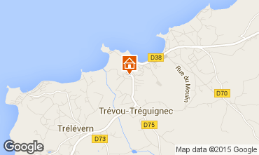 Karte Trevou Treguignec Appartement 86093