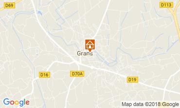 Karte Grans Villa 114332