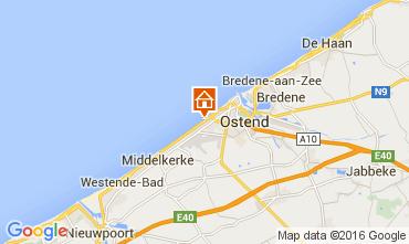 Karte Ostende Appartement 104009