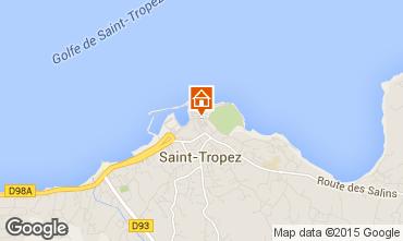 Karte Saint Tropez Haus 5673