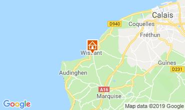 Karte Wissant Haus 16157