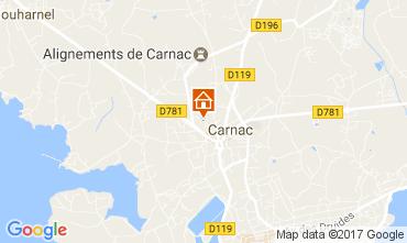 Karte Carnac Appartement 108294