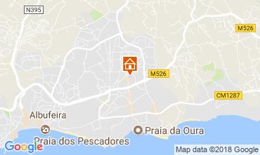 Karte Albufeira Appartement 105384