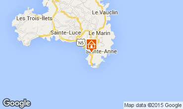 Karte Sainte Anne (Martinique) Appartement 58877