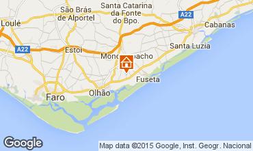 Karte Olhão Ferienunterkunft auf dem Land 72885