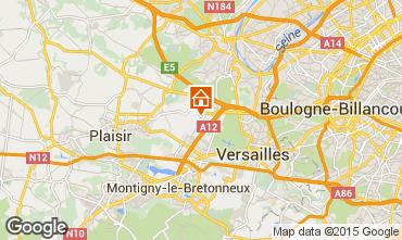Karte Versailles Ferienunterkunft auf dem Land 15412