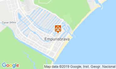 Karte Empuriabrava Appartement 118477