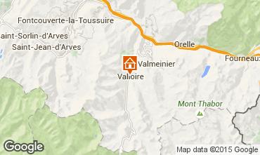 Karte Valloire Appartement 83091