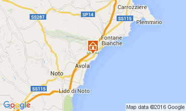 Karte Avola Villa 104217