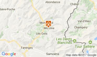 Karte Morzine Appartement 110961