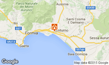 Karte Formia Appartement 48612