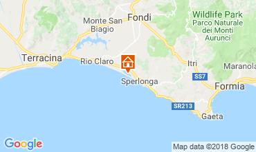 Karte Sperlonga Villa 116100