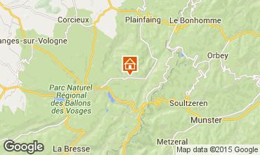 Karte Gérardmer Chalet 4581
