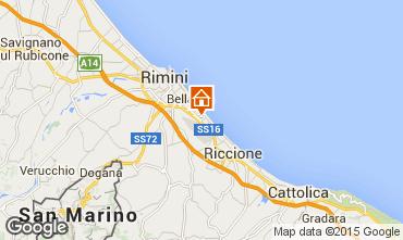 Karte Rimini Appartement 21770