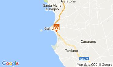 Karte Gallipoli Appartement 108516