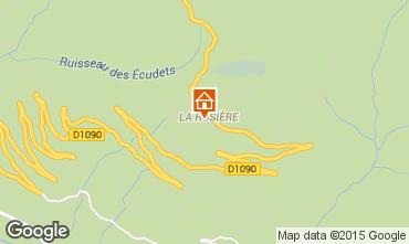 Karte La Rosière 1850 Studio 2476