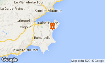 Karte Saint Tropez Mobil-Home 80923
