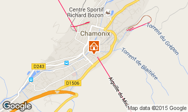 Karte Chamonix Mont-Blanc Studio 67211