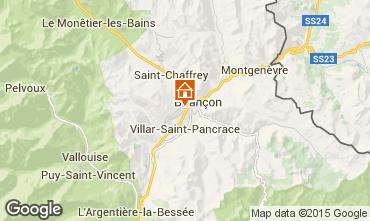 Karte Brian�on Chalet 68378