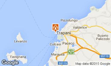 Karte Trapani Appartement 93394