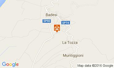Karte Badesi Appartement 80778