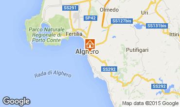 Karte Alghero Appartement 69224