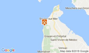 Karte Soulac Haus 114055