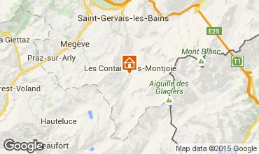 Karte Les Contamines Montjoie Studio 946