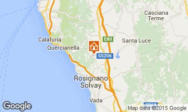 Karte Castiglioncello Appartement 96711