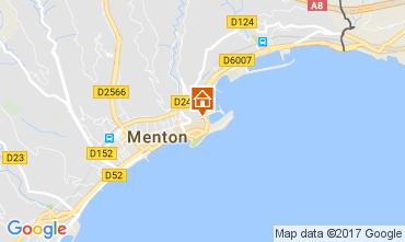 Karte Menton Appartement 61049