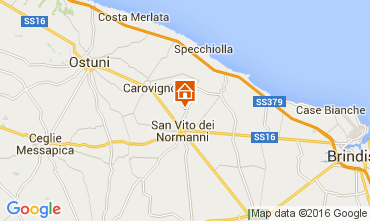 Karte Ostuni Villa 104301
