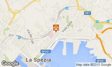 Karte La Spezia Appartement 71921