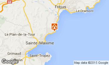 Karte Les Issambres Appartement 80308