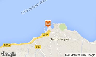 Karte Saint Tropez Appartement 93969