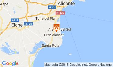 Karte Alicante Haus 112965