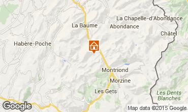 Karte Saint Jean d'Aulps- La Grande Terche Chalet 20217