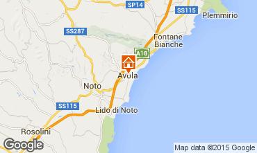 Karte Avola Haus 94501