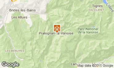 Karte Pralognan la Vanoise Haus 81037