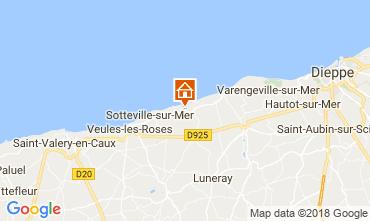 Karte Veules-les-Roses Villa 115718