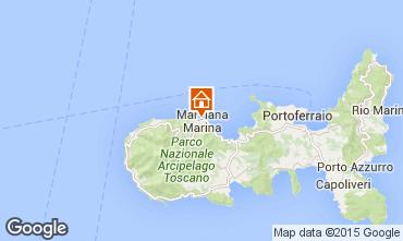 Karte Marciana Marina Studio 93435