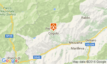 Karte Peio (Pejo) Appartement 105628