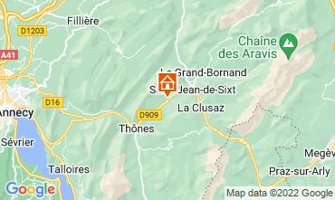 Karte La Clusaz Appartement 866